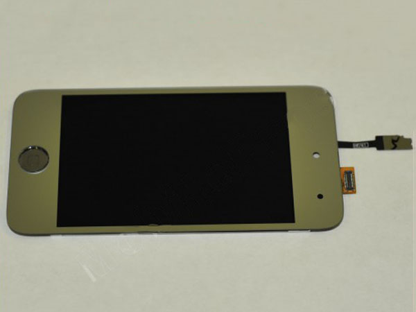 iPod touch 4 complete screen – metallic silver