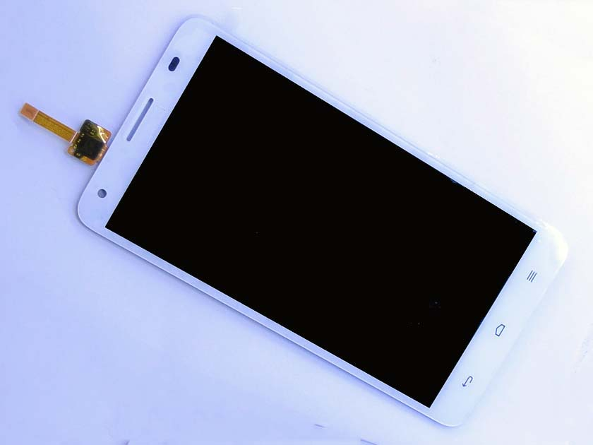 LCD Screen and Digitizer Assembly for Huawei honor 3X G750 - White