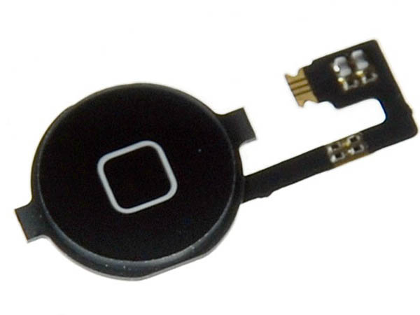 Home Button Assembly Black for iPhone 4