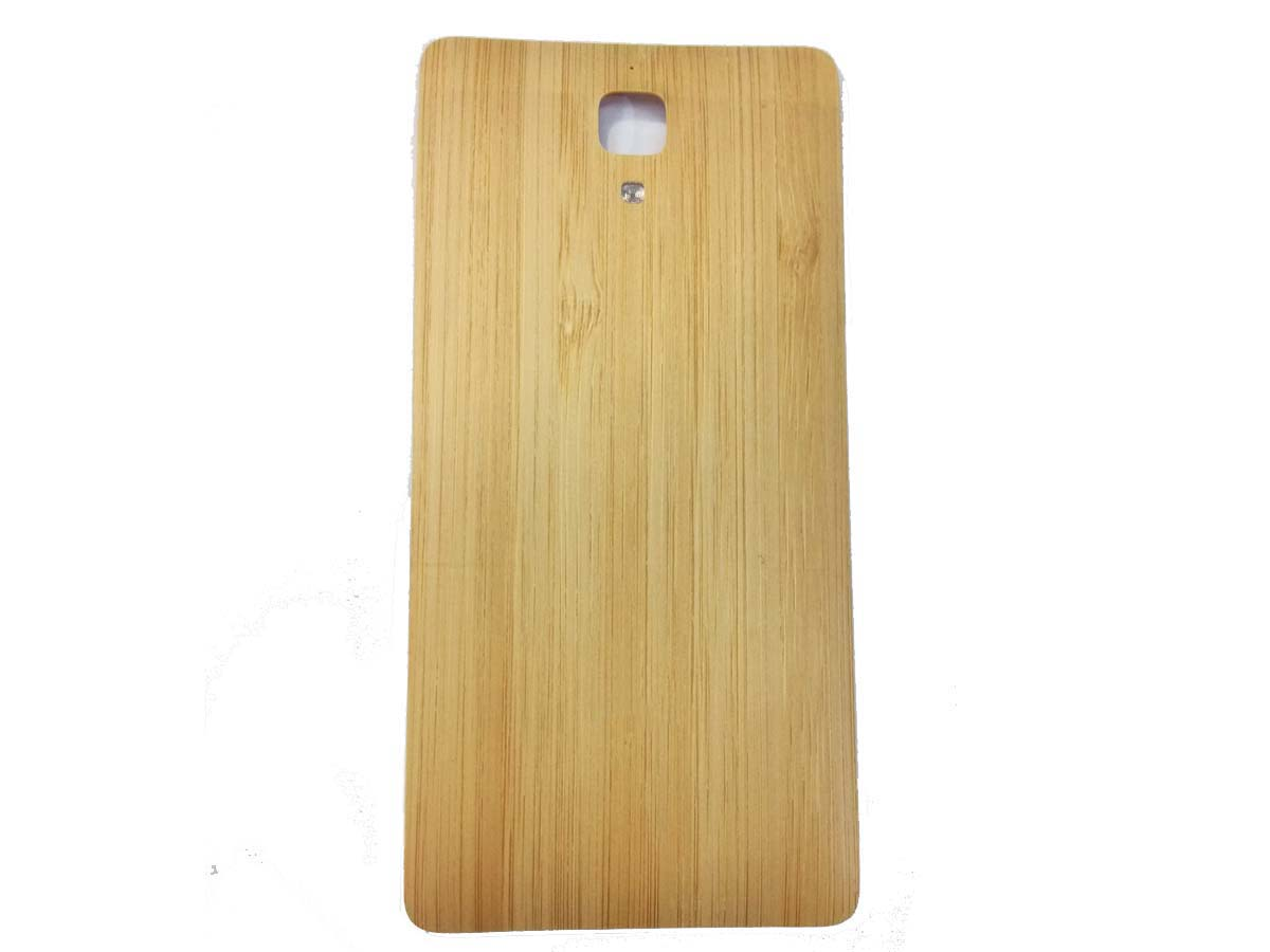 Original xiaomi 4 wooden battery cover - style 3 (Bamboo Bangkok)