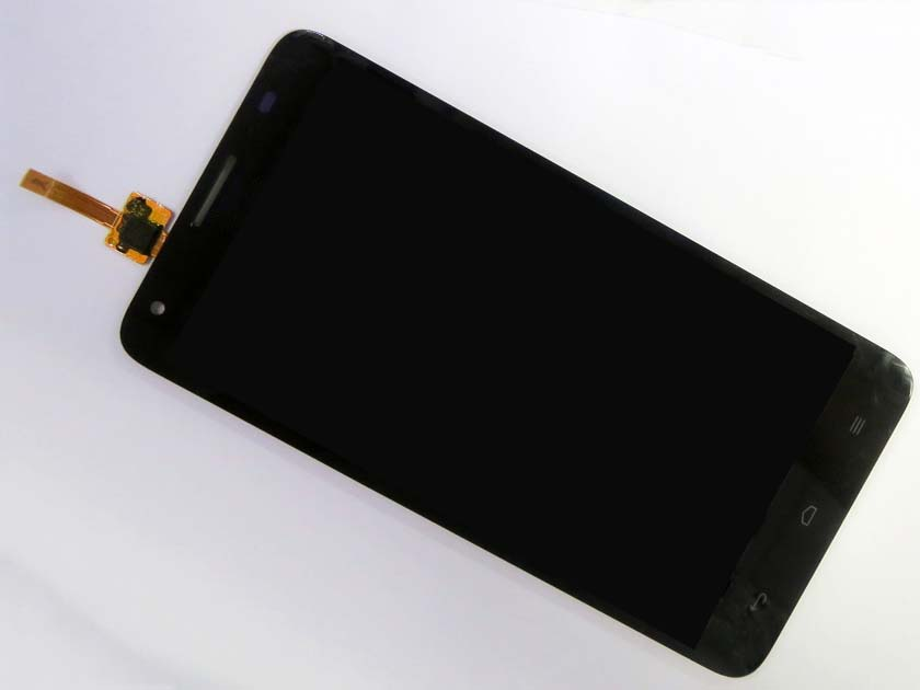 LCD Screen and Digitizer Assembly for Huawei honor 3X G750 - Black