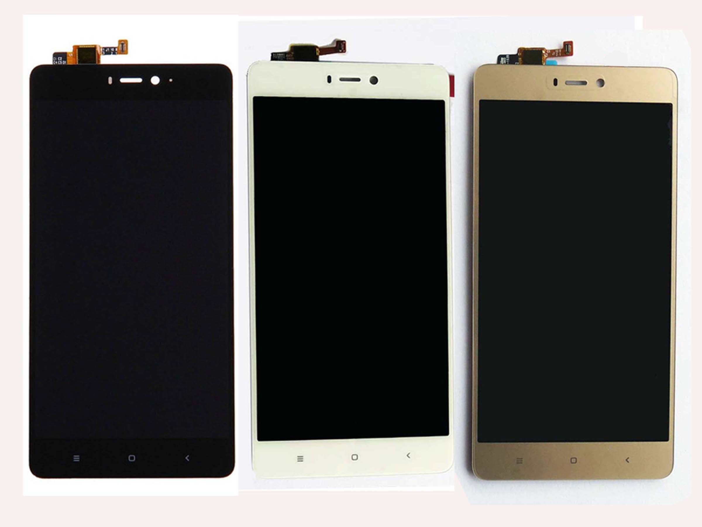 Original LCD Assembly with OEM Touch Screen for Xiaomi 4s-White & Black & Gold