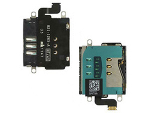 SIM Card Holder Flex Cable Repair for iPad 3 and 4 Wi-Fi + 4G