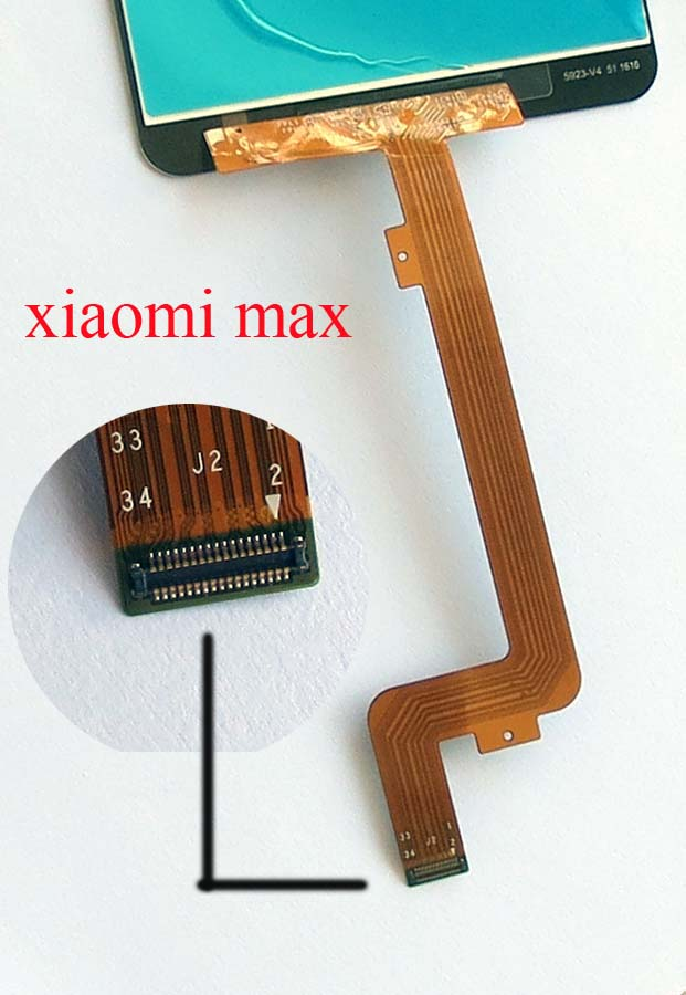 Original LCD Screen and Touch Screen Assembly for Xiaomi Max -White