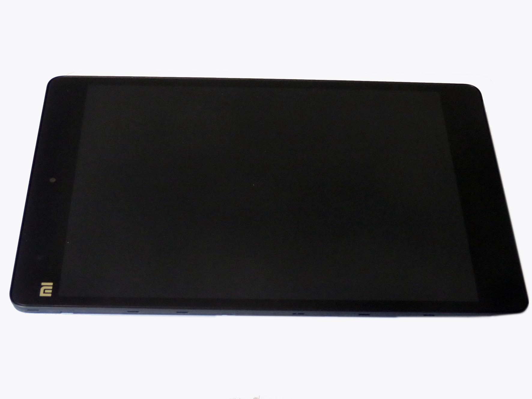 Original New complete screen with front housing for xiaomi Mipad - Black