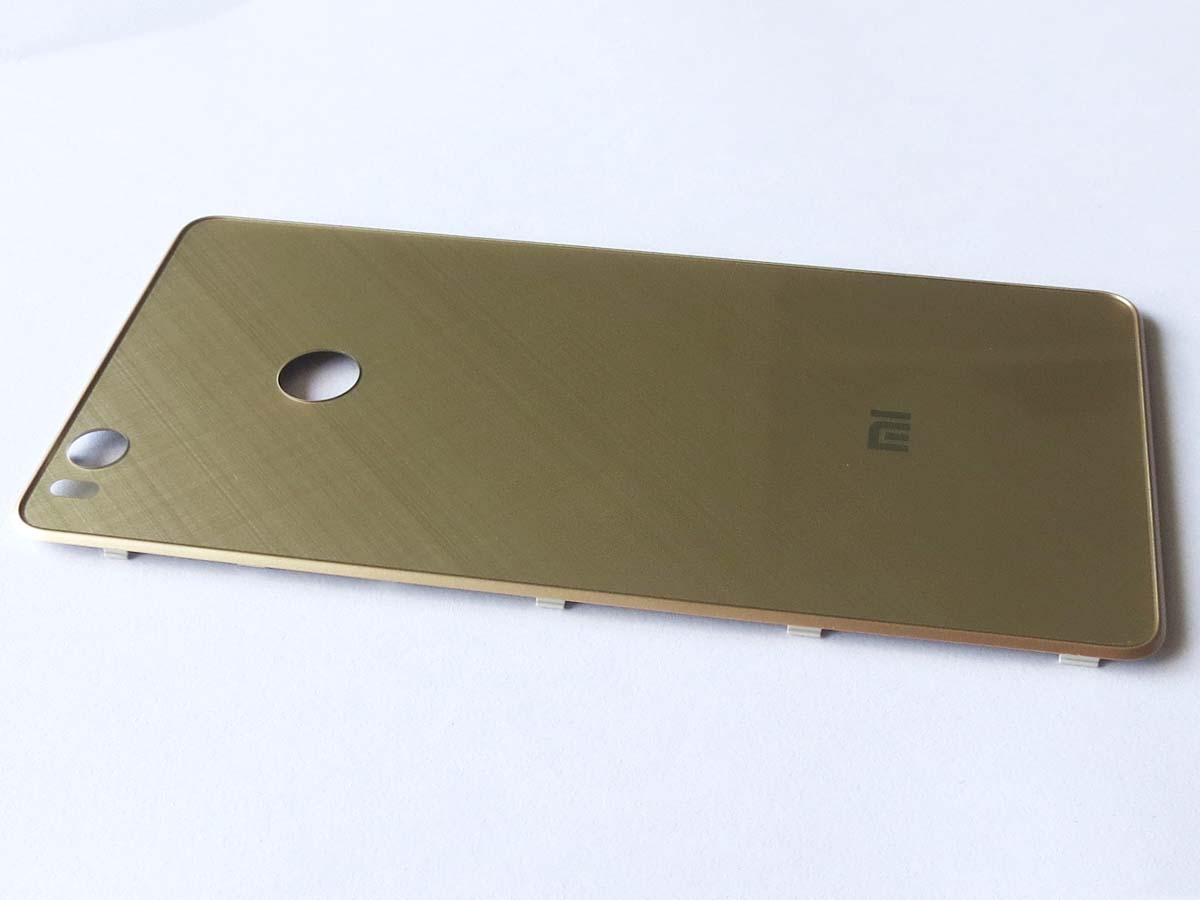Battery Cover Back Housing Cover for xiaomi 4s mi 4s - Black&Gold