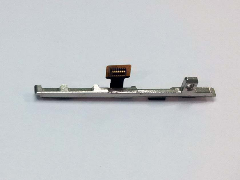 Power Mute Volume Button Port Flex assembly with fixed iron for xiaomi Mi4 - disassemble