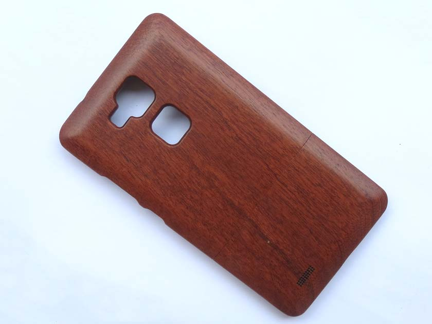 Natural Wooden Back Cover case for Huawei Ascend Mate7 - Sapele