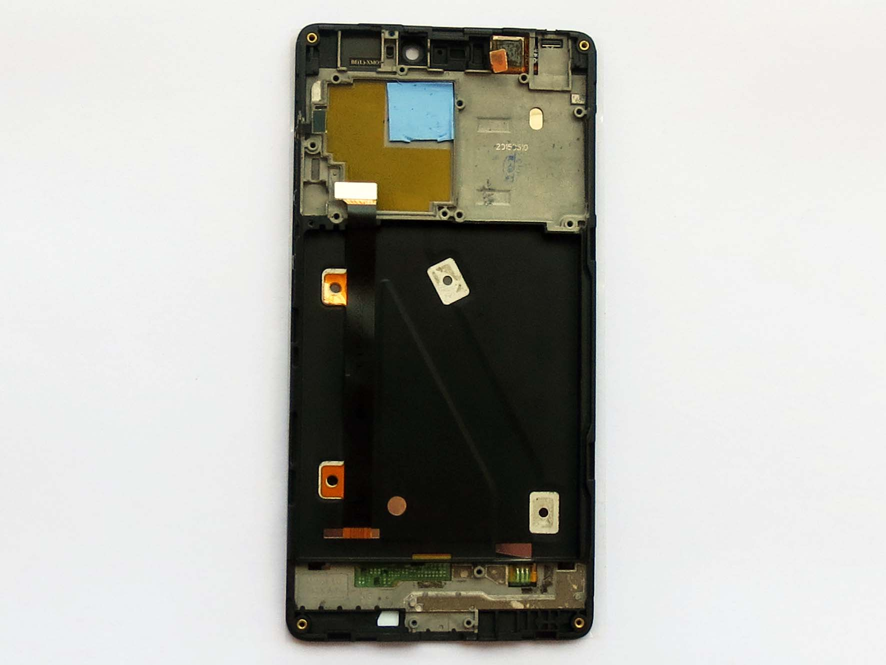 Original Complete screen with front housing for Xiaomi 4i -95% new