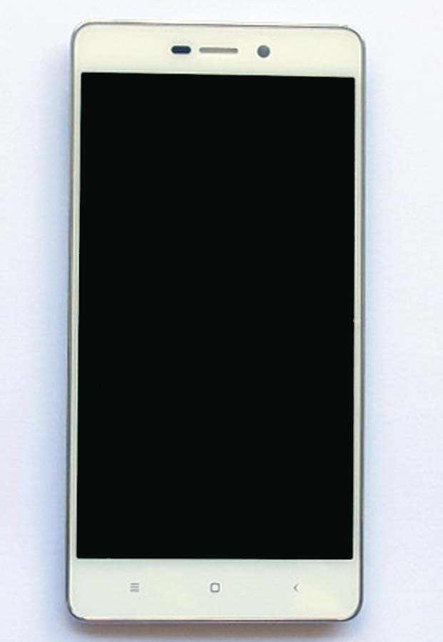 Original Complete screen with front housing for Redmi 3& Redmi 3 pro -Black&White&Gold