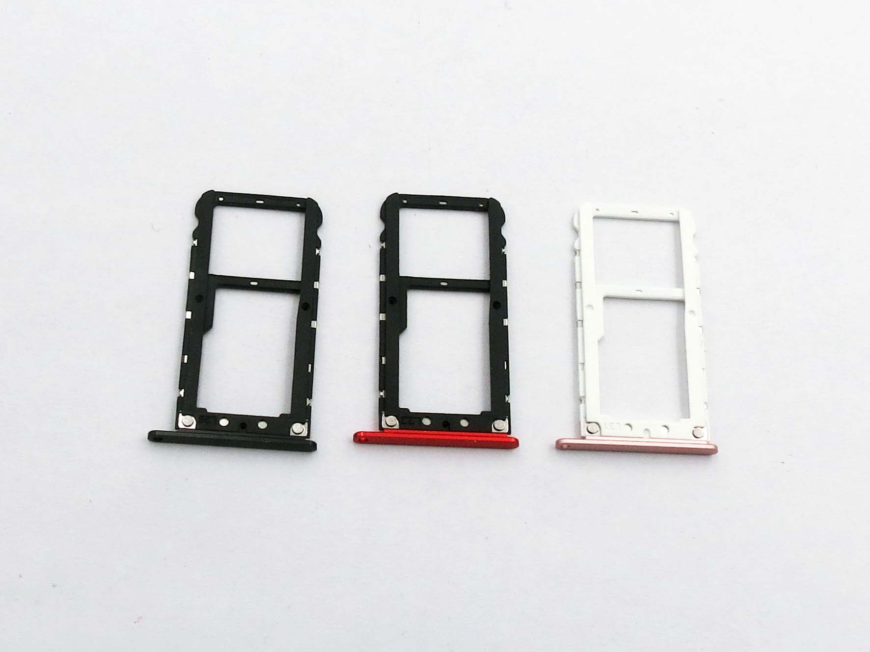 Original Dual Sim Card Slot Tray Holder for xiaomi 5z- Black&Red&Pink&Gold