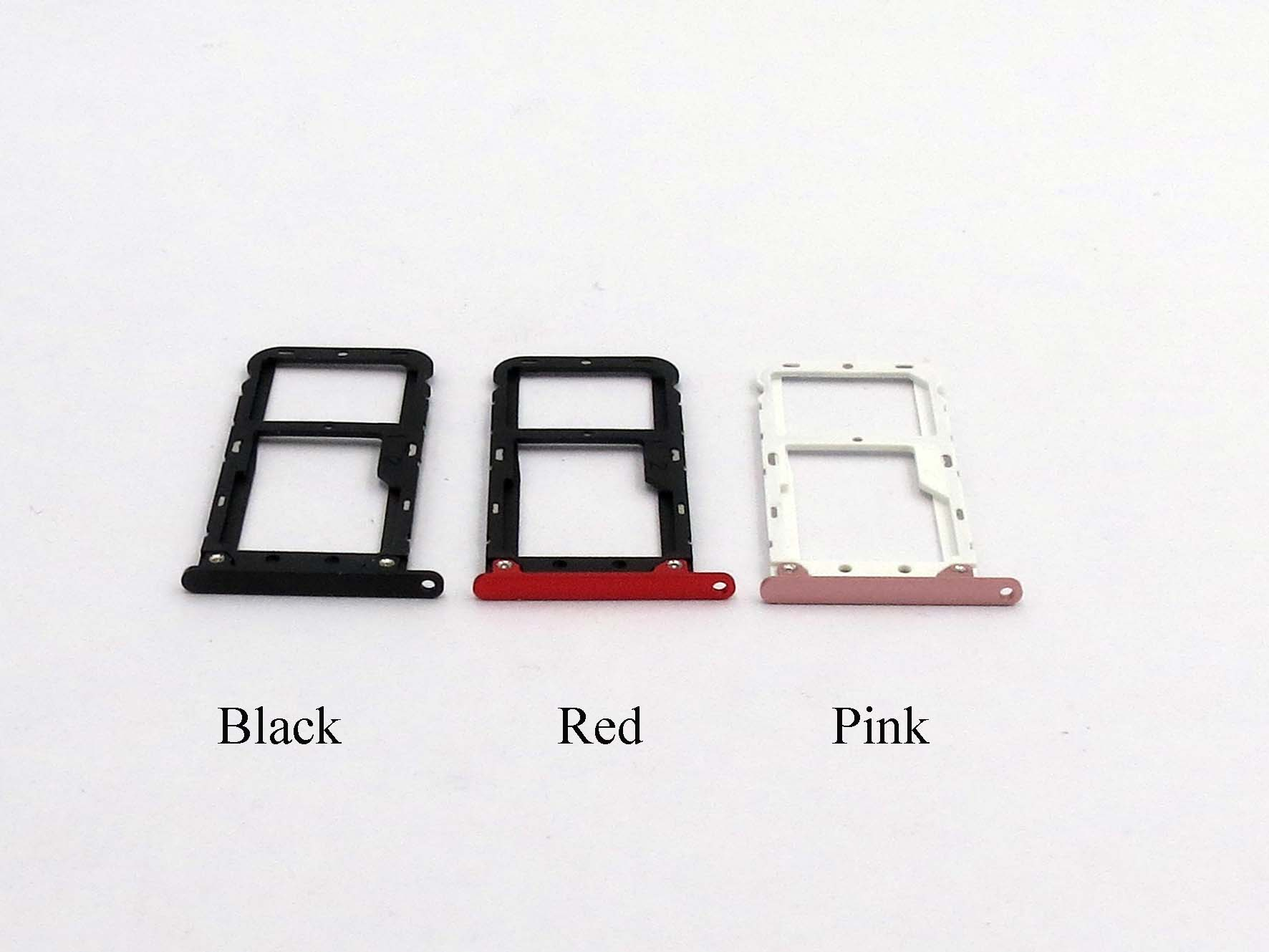 Original Dual Sim Card Slot Tray Holder for xiaomi A1- Black&Red&Pink&Gold