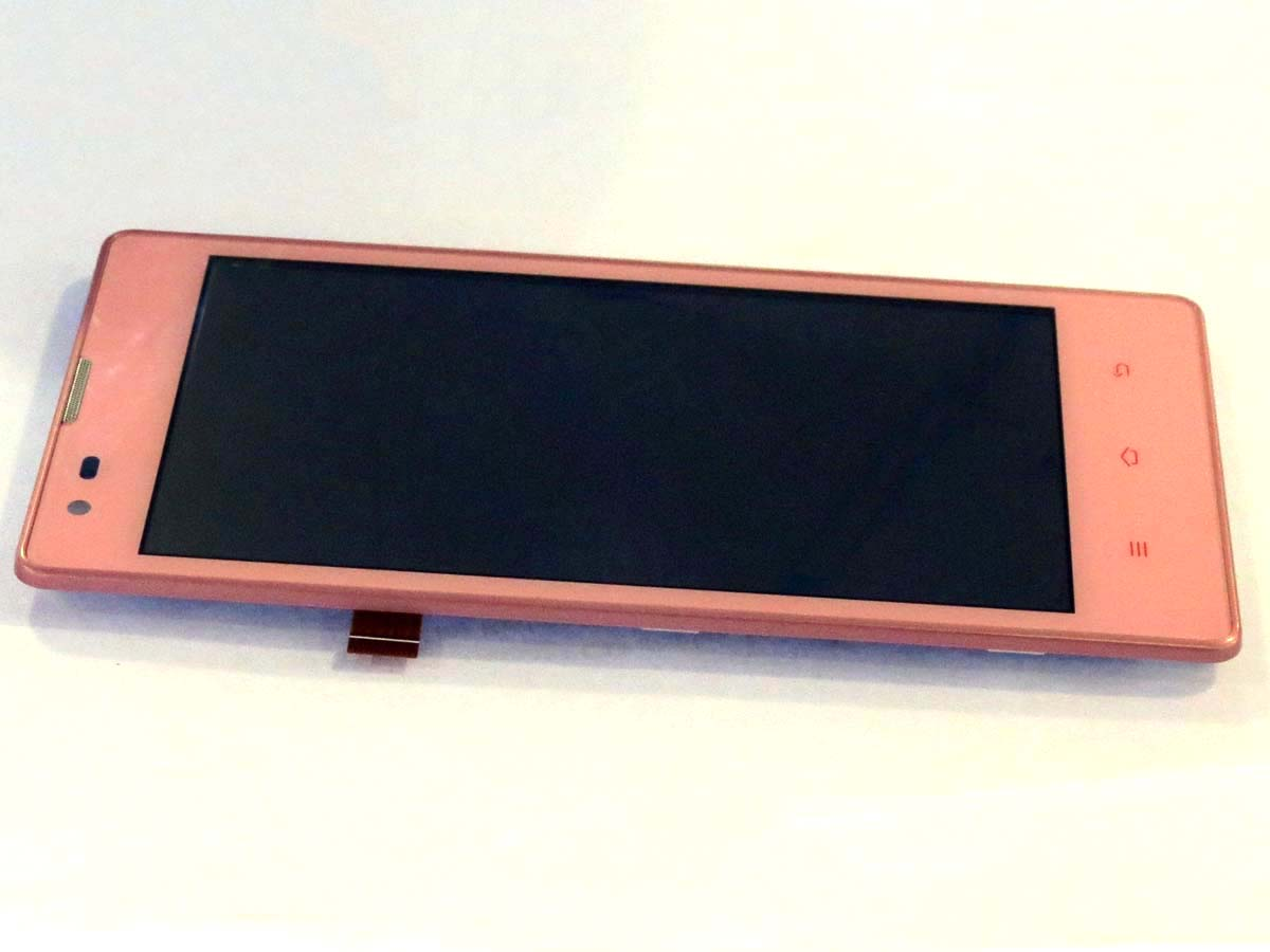 Original Complete screen with housing for xiaomi Redmi & Redmi 1S-Pink