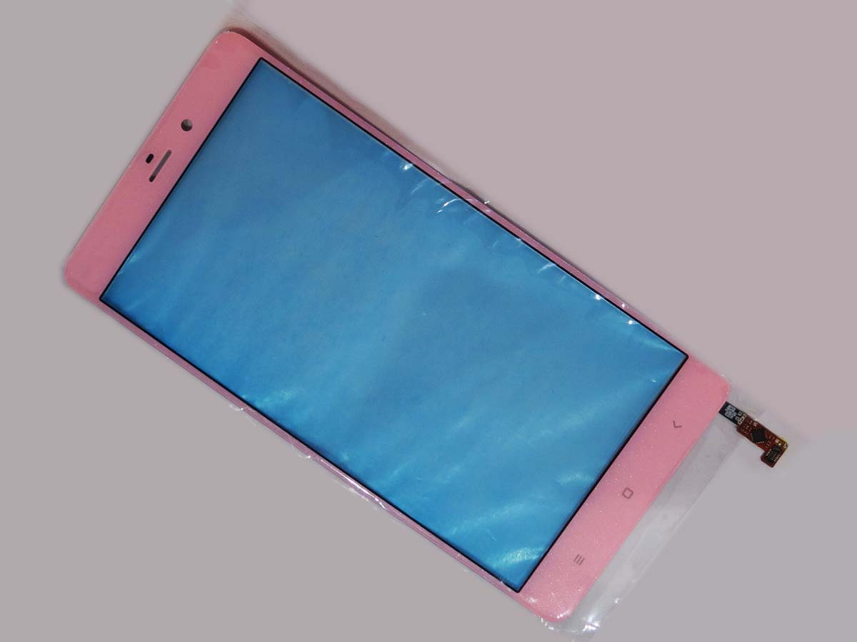 Panel Outer Glass Digitizer Replacement for Xiaomi note Mi Note screen–Pink