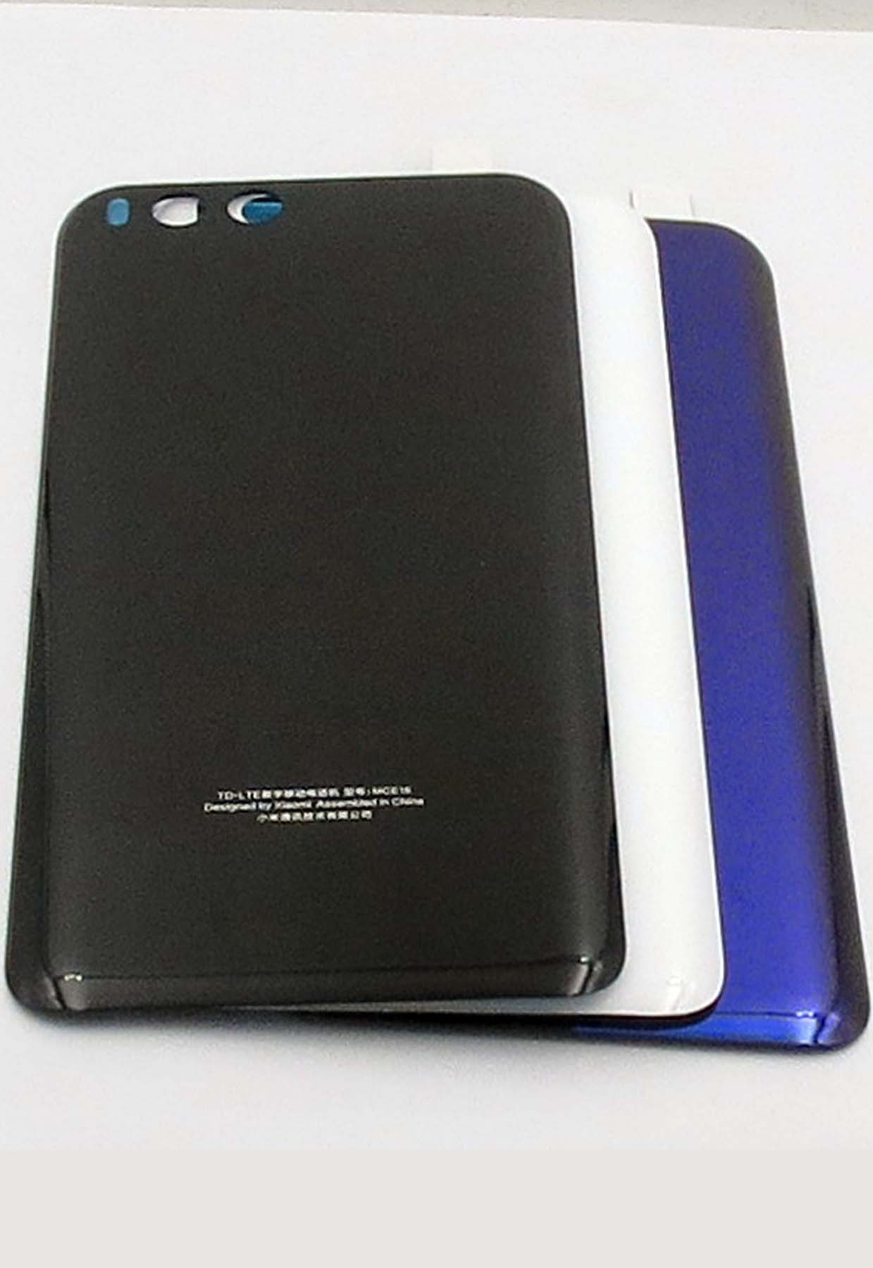 Original Battery Cover Back Housing Cover with Adhensive for xiaomi 6-Black&White&Blue