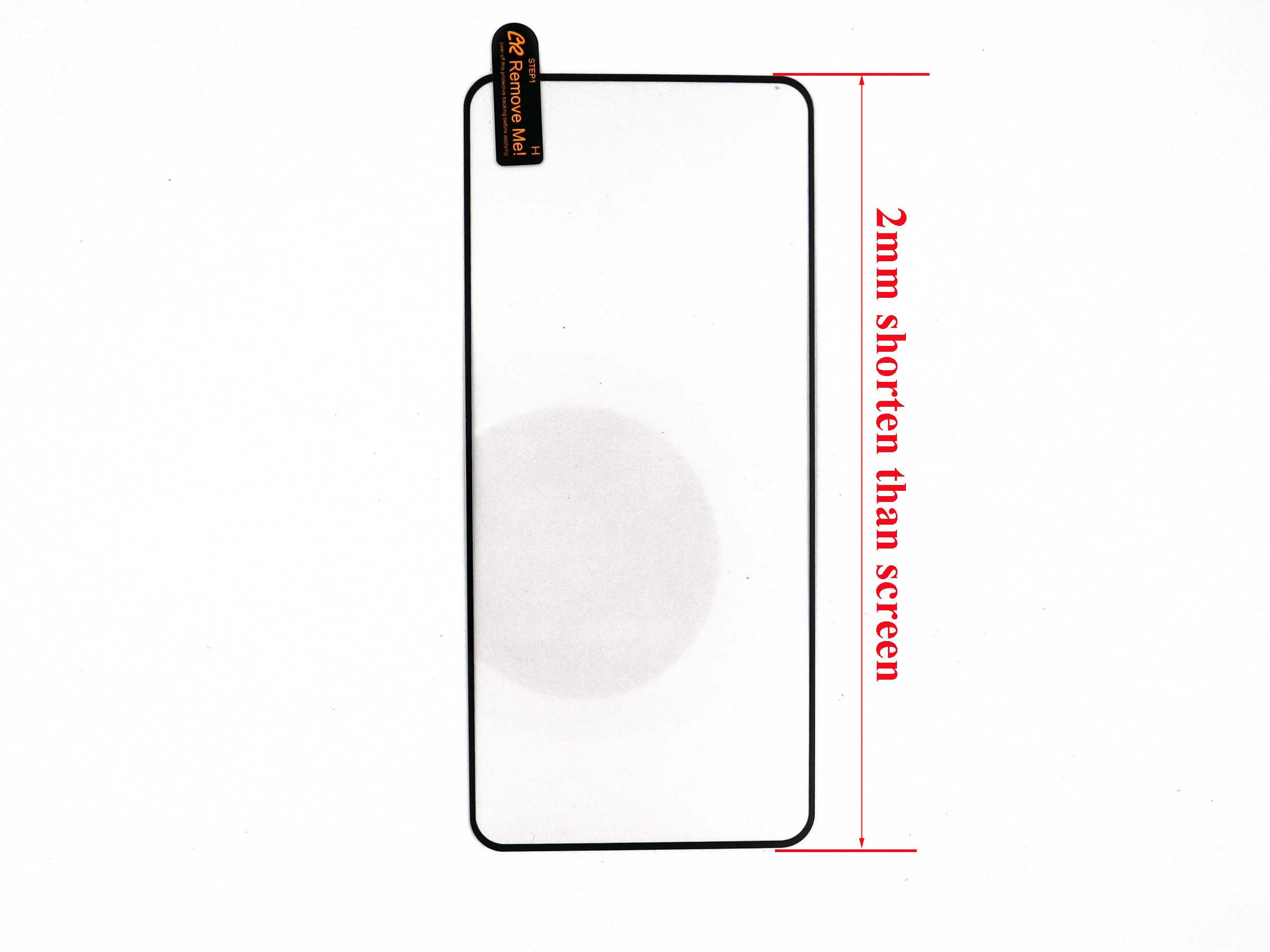 Top and Bottom Glass Cover for iPhone 5 - white & black