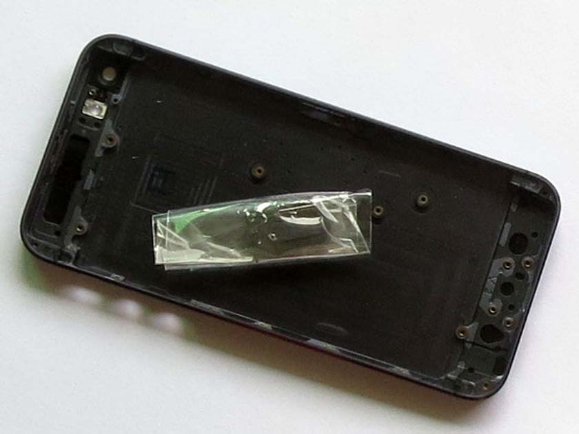 OEM iPhone 5 Back Cover Housing with Middle Frame -black