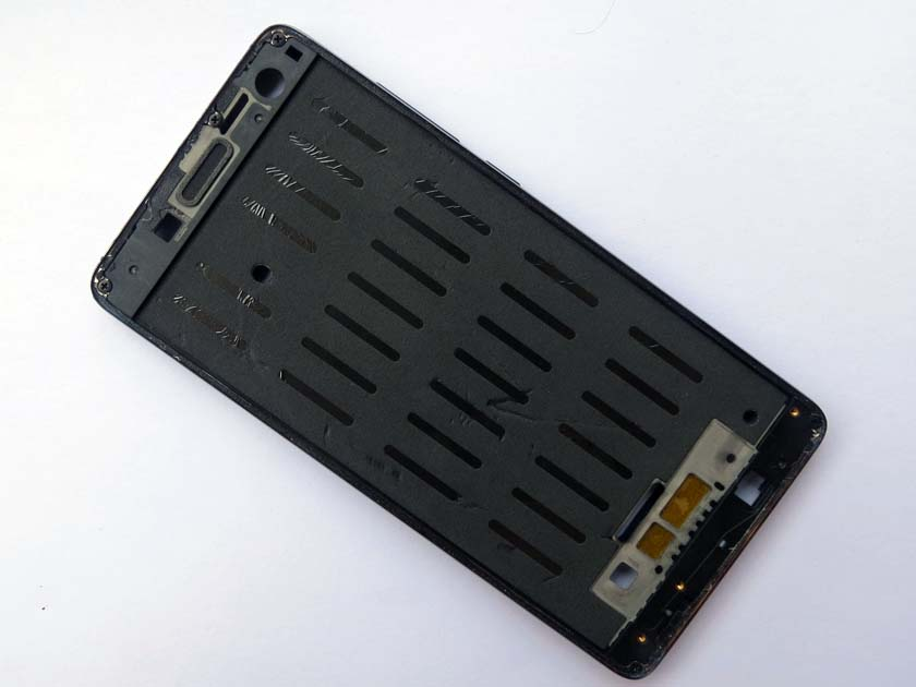 Original WCDMA/FDD-LTE Metal Front LCD Housing Middle Frame for Xiaomi 4- Black