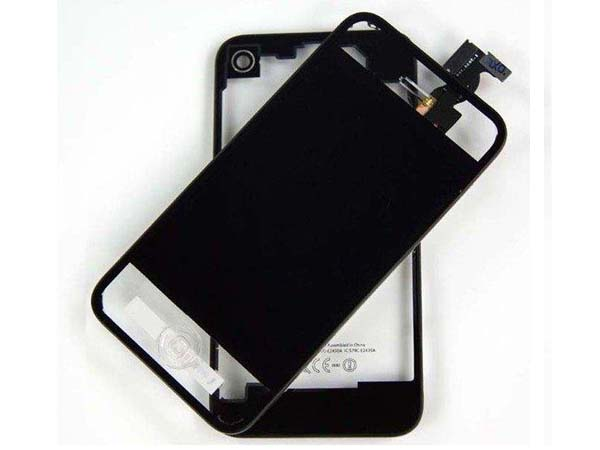 Conversion kit iPhone 4s - clear black