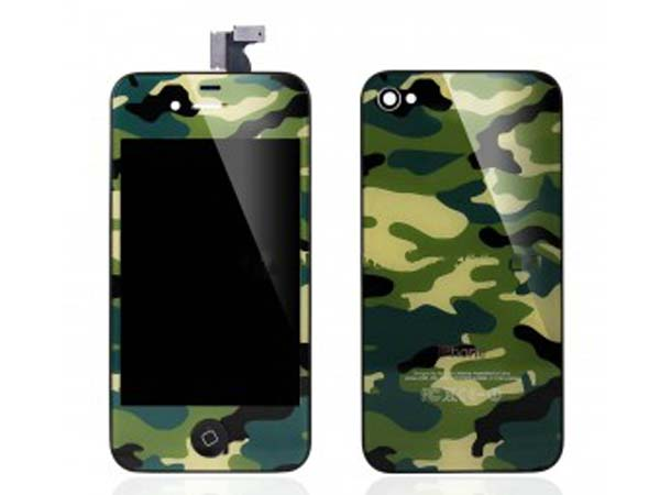Conversion kit iPhone 4 -Camouflage green