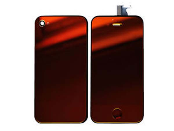 Conversion kit iPhone 4g - red metalic(mirror LCD)