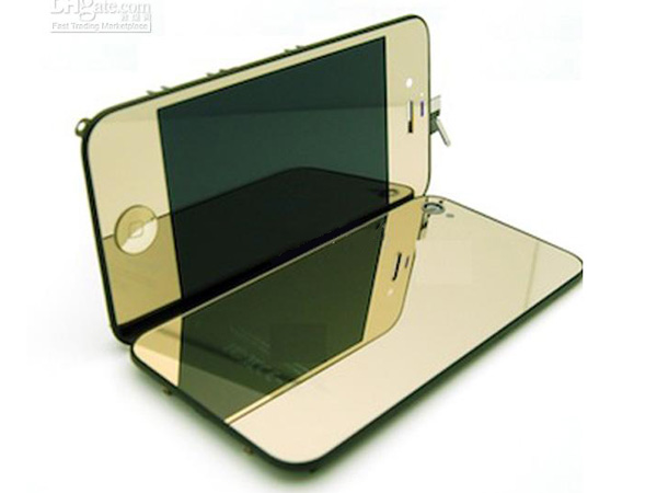 Conversion kit iPhone 4g - gold metalic(non mirror LCD)