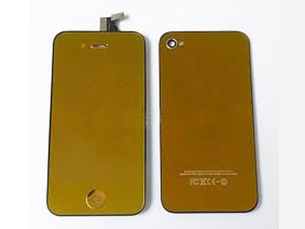 Conversion kit iPhone 4g - gold metalic(mirror LCD)