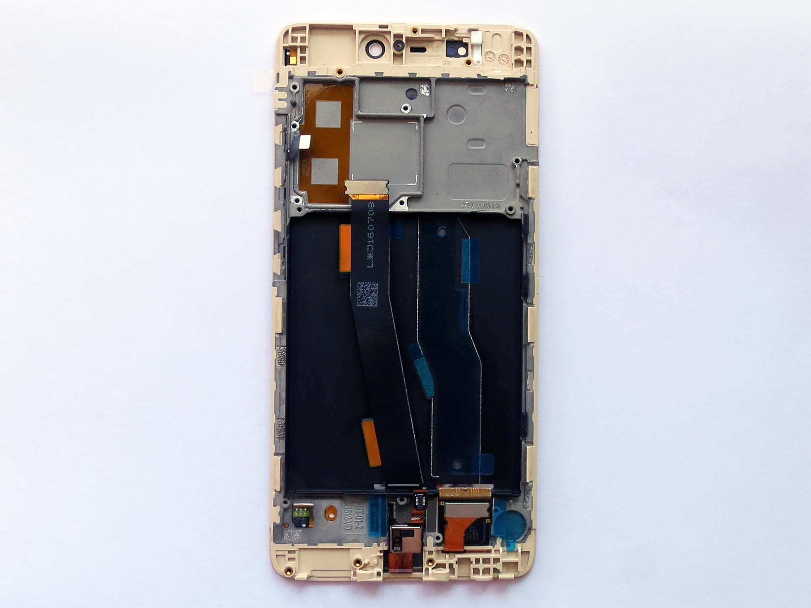 Original Complete screen with front housing for xiaomi 5s Mi 5s - Gold
