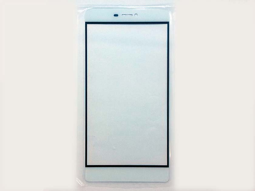 Outer Front Glass Lens for Huawei Ascend P8- White