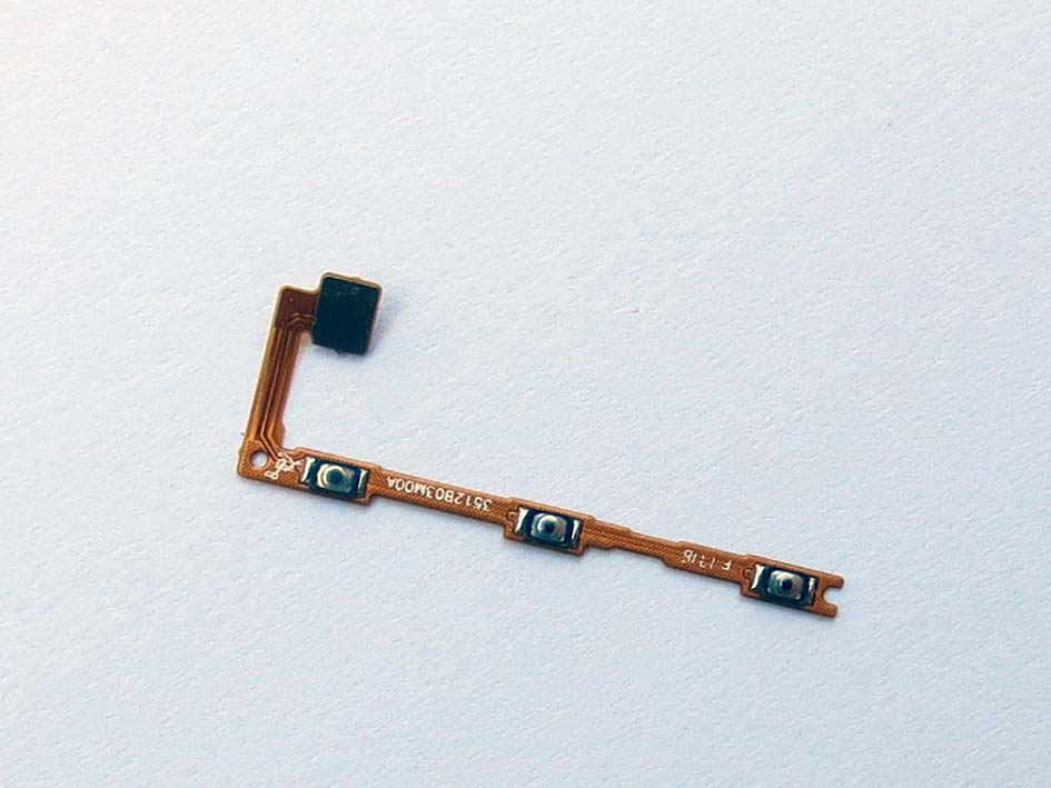 Power Mute Volume Button Port Flex for Xiao max mi max