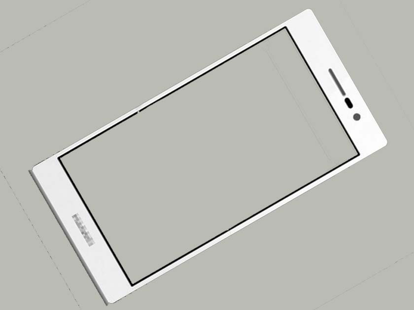 Outer Lens Front Glass for Huawei Ascend P7- White