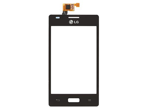 Digitizer Touch Screen for LG Optimus L5 E610 - Black