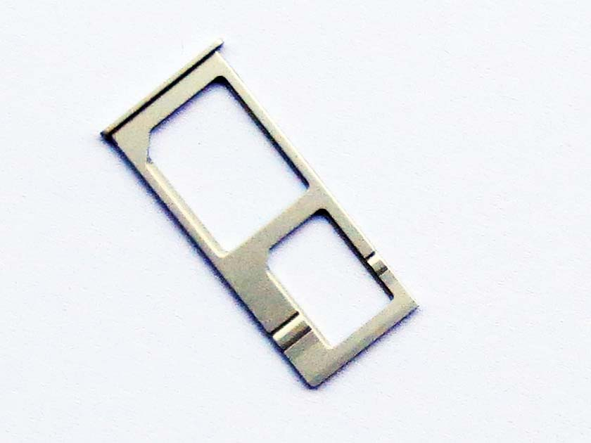Original Dual Sim Card Slot Tray Holder for Xiaomi Mi Note & Mi Note Pro- Silver