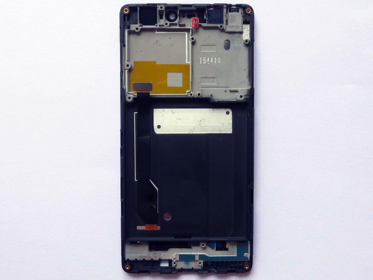 Original LCD and OEM Touch Screen Digitizer Assembly with frame for mi 4c