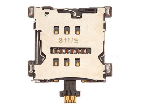 SIM Card Reader Contact Flex Cable for HTC One