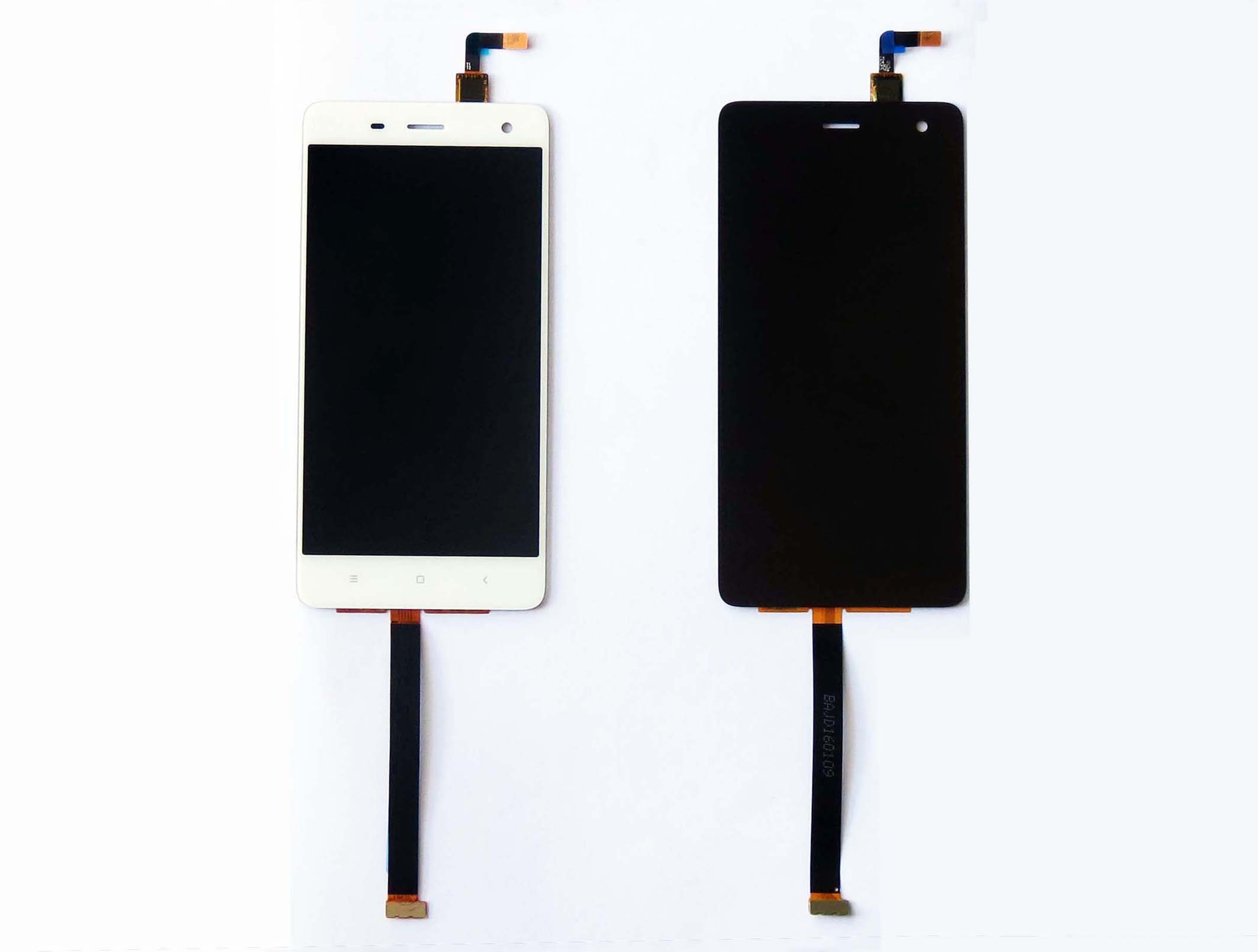 Original LCD and copy Touch screen assembly for xiaomi mi4 - Black & White