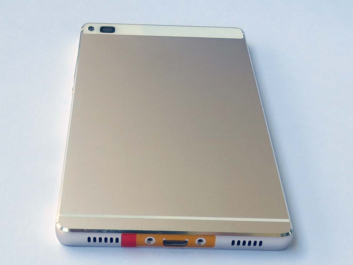 Battery Cover Back Housing Cover for Huawei Ascend P8 - gold