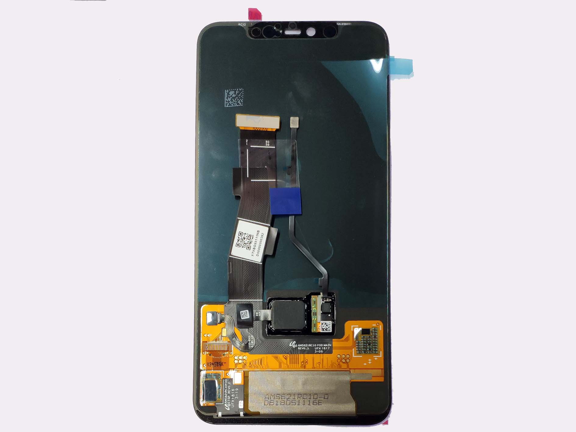 Digitizer Touch Screen White for HTC 8S