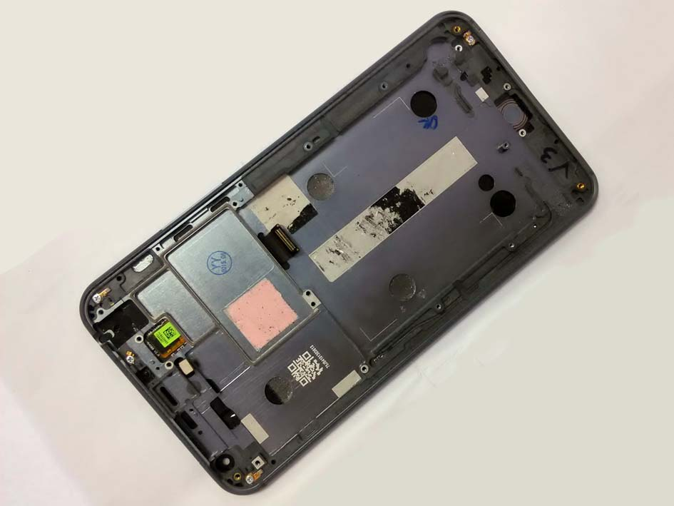 Original LCD Touch Screen Digitizer Assembly with frame for Meizu MX4– Black