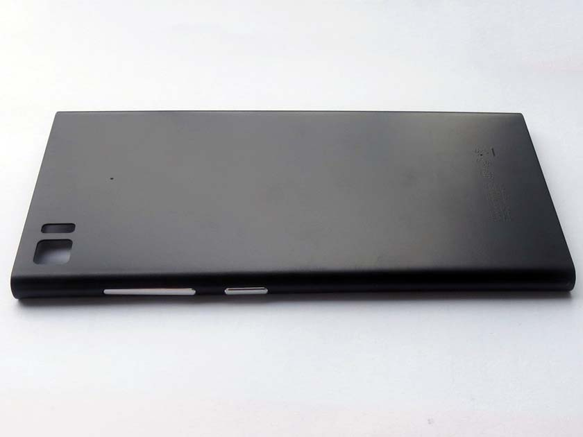 Battery Cover Back Housing Cover for xiaomi 3 m3 mi3 (WCDMA)-Black