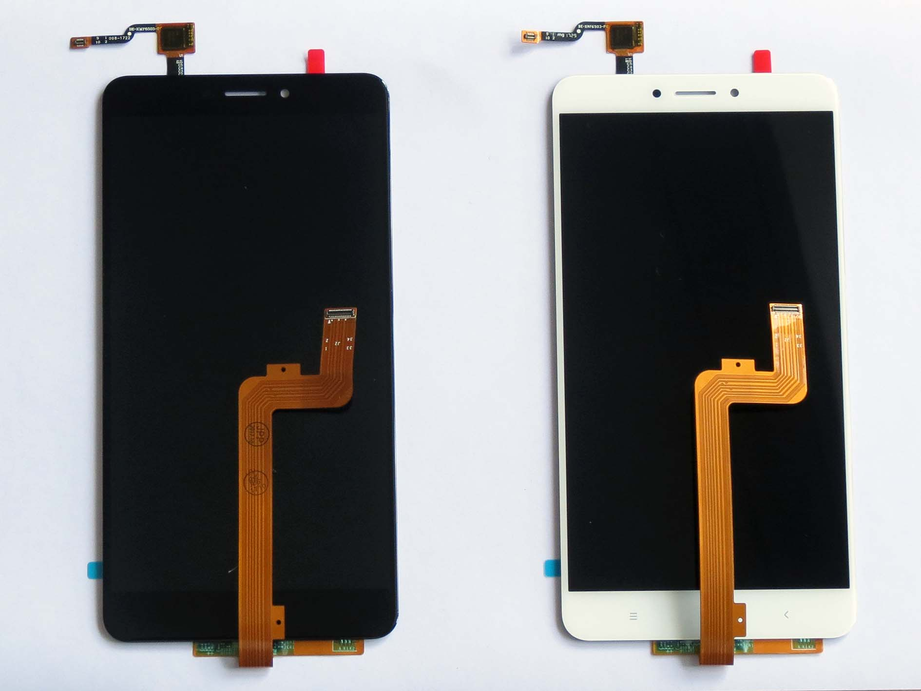 Original LCD display Touch Screen Digitizer assembly for xiaomi max 2-White & Black