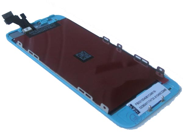Complete screen for iPhone 5- Baby Blue