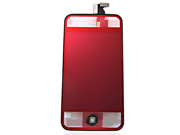 Conversion kit iPhone 4s - clear red metallic