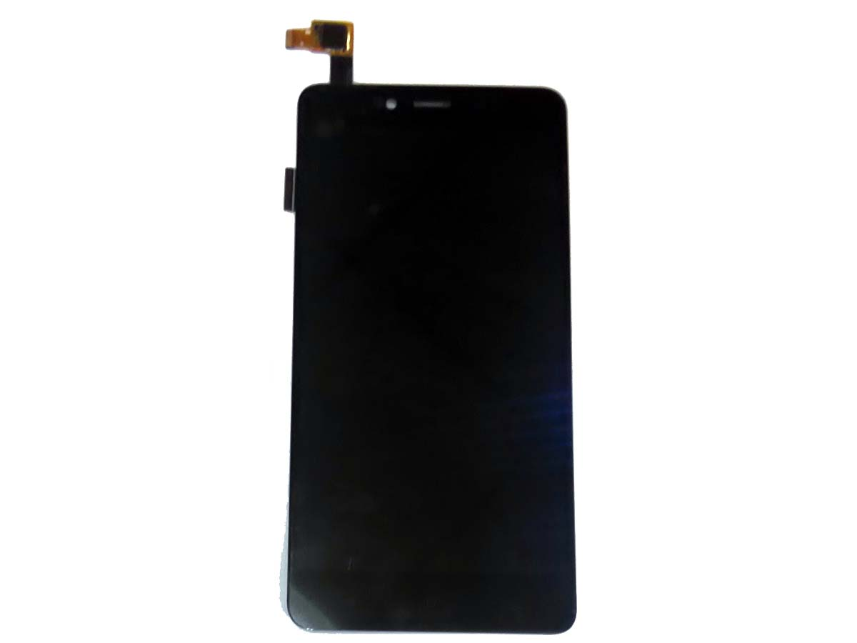 Original LCD and OEM Touch screen Assembled via Unofficial for Redmi Note 2 - Black