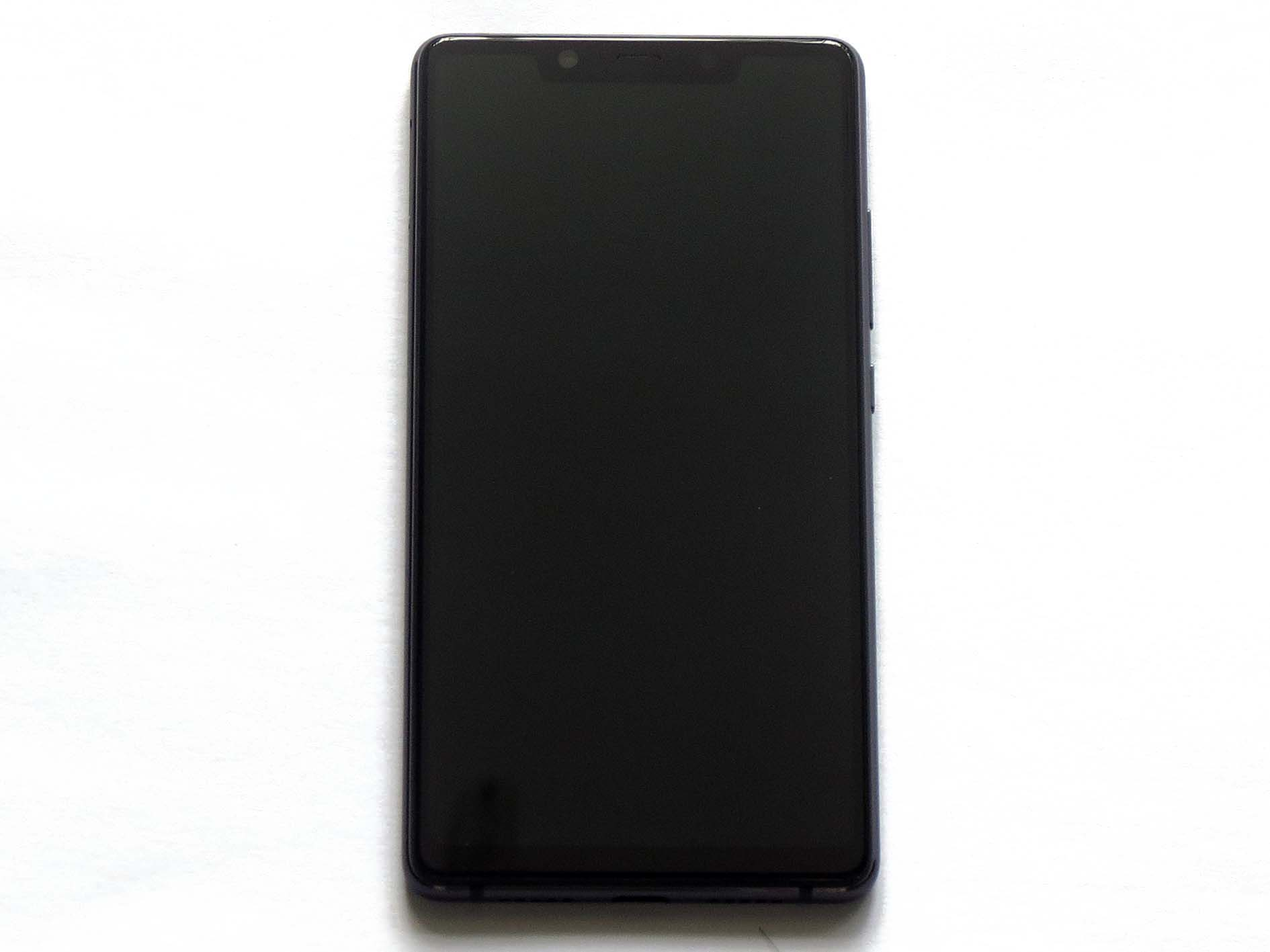 Original Complete screen with various colors frame for xiaomi 8 SE-Black