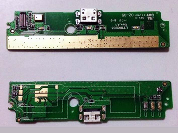 USB plug charge board flex cable for Redmi note HongMi note