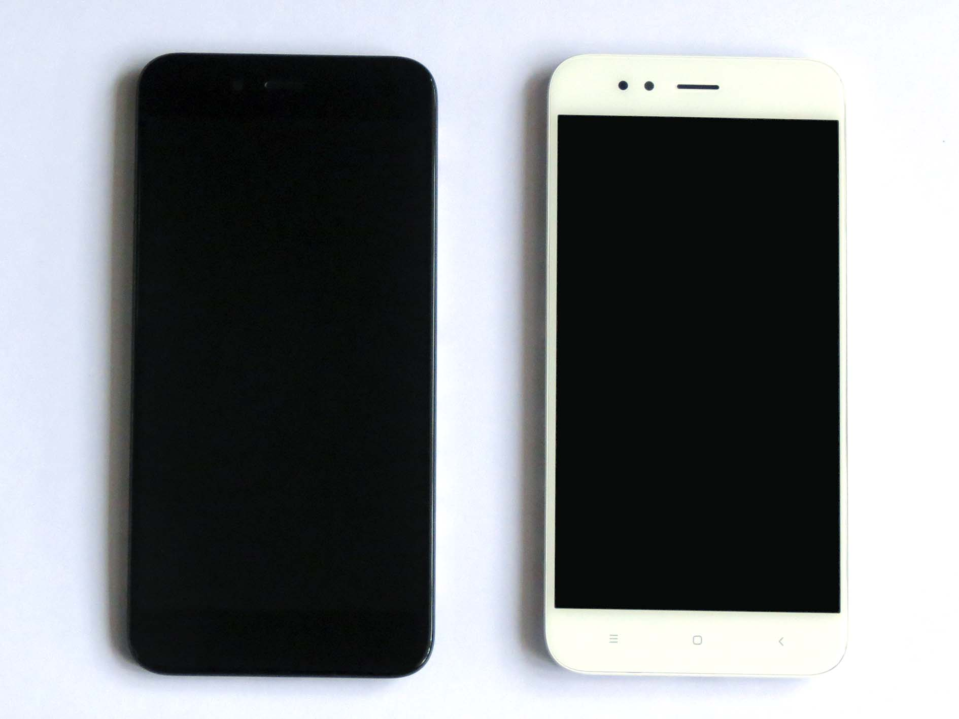 Original Complete screen with front housing for xiaomi 5x & A1- Black&White