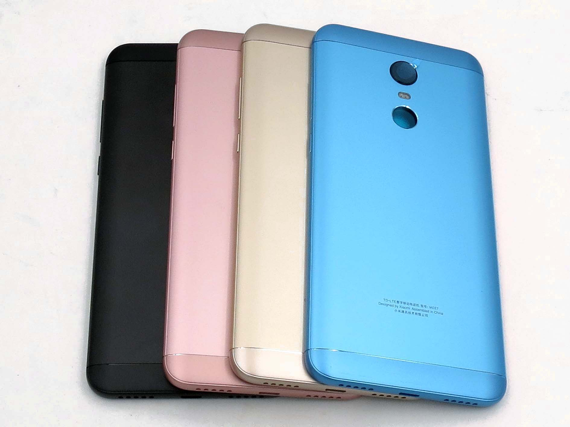 Original Battery Cover Back Housing Cover for Redmi 5 plus Black&Gold&Pink&Blue