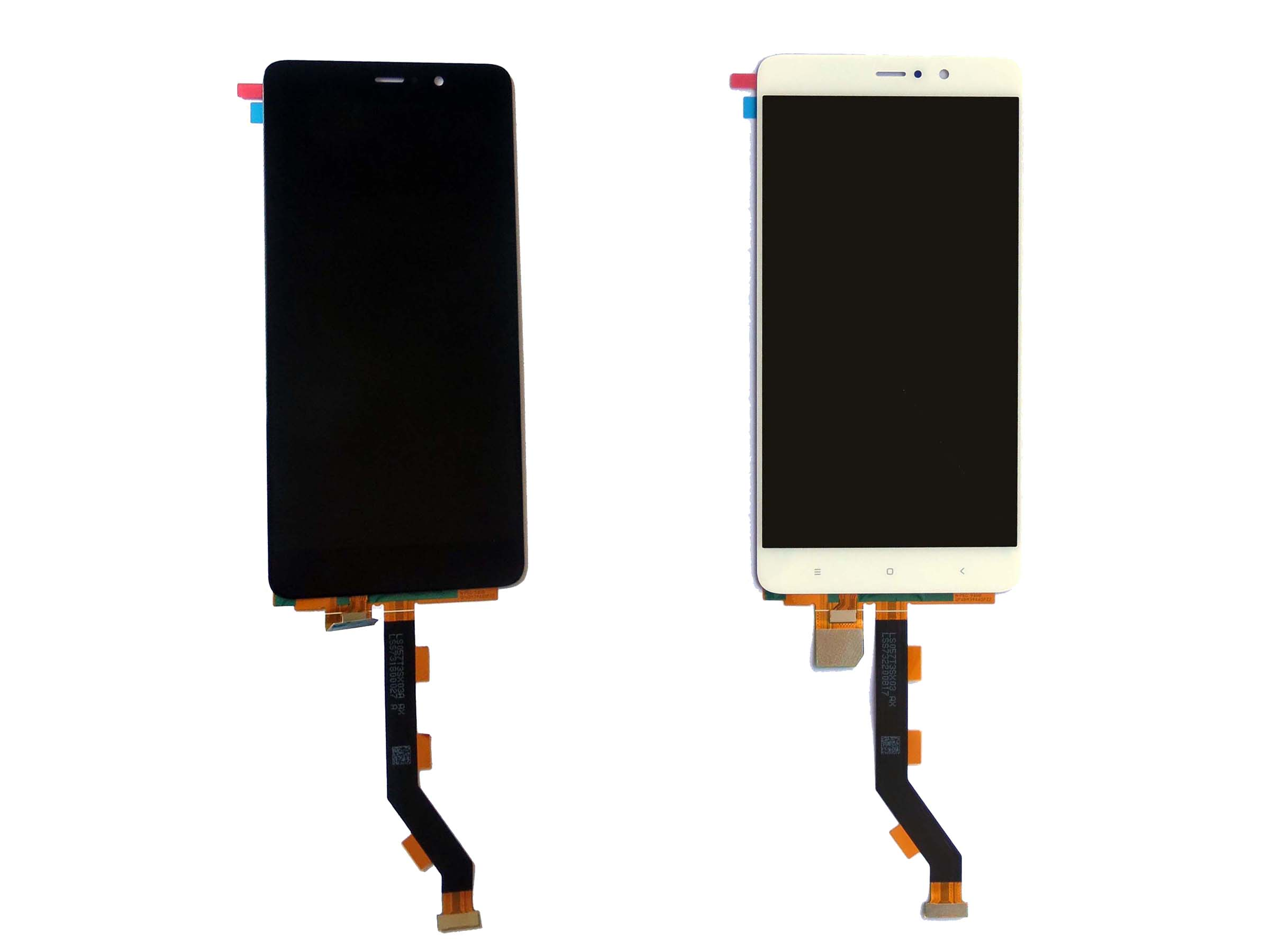 Original LCD Touch Screen Digitizer Assembly for Xiaomi 5s plus-Black & White
