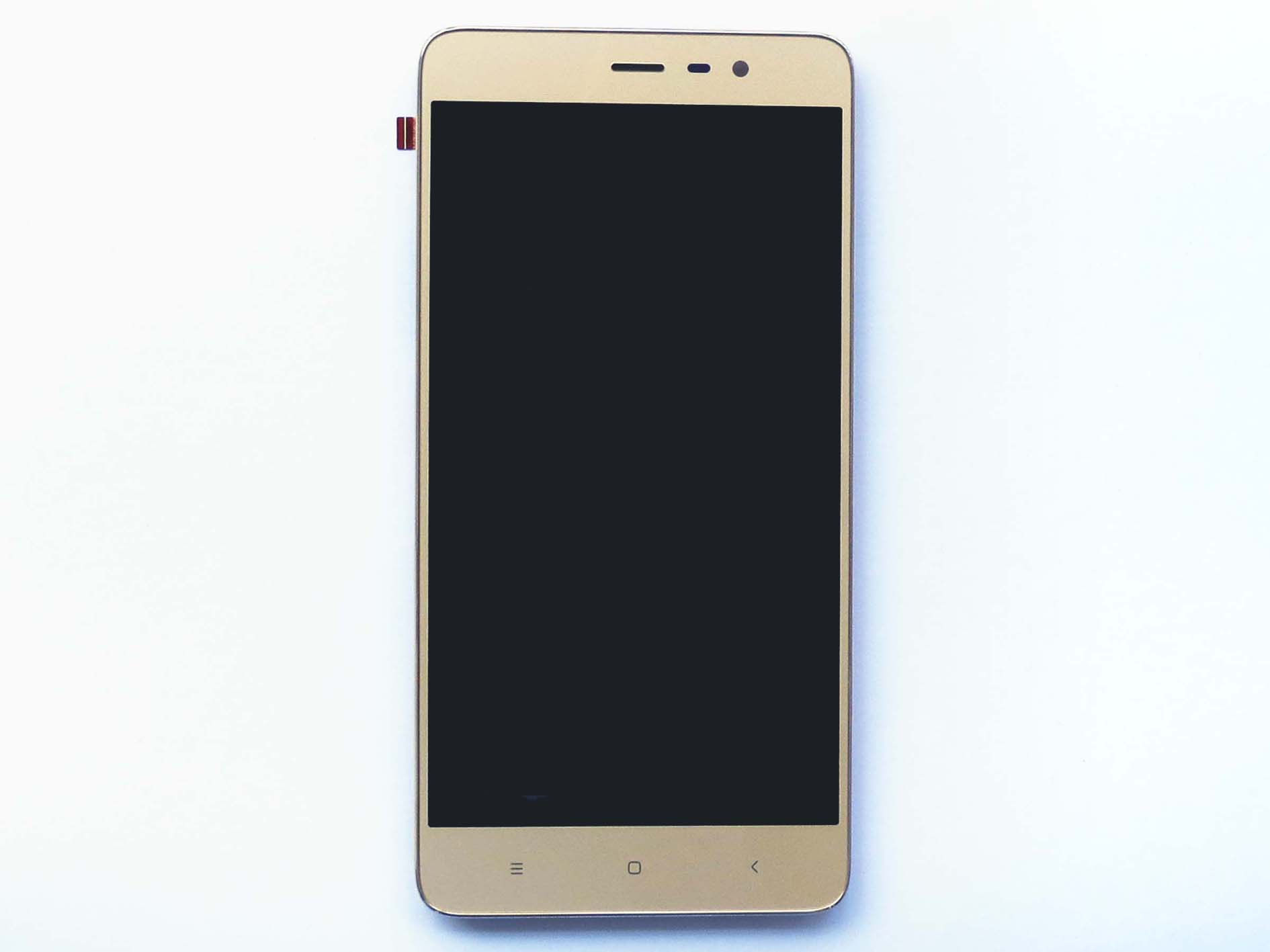 Original Complete screen with housing for Redmi note 3 pro special edition- Gold